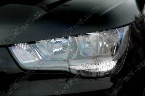 pack led daytime running lights for audi a1 drl. Black Bedroom Furniture Sets. Home Design Ideas