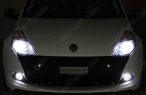 Diamond white bulb gas xenon 5000K H16 19W Cubit  Michiba Led