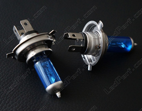 Michiba Diamond White 5000K H4 gas-charged xenon bulbs