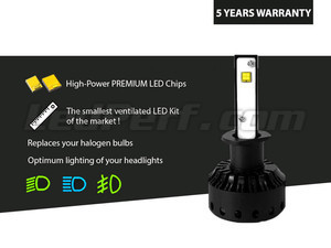 Led High Power H1 Led Bulb Kit LED Haute Performance H1 Tuning