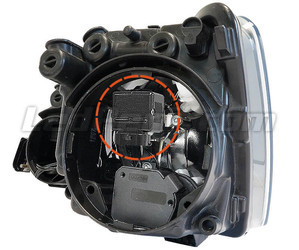All Inside H11 LED conversion Kit in headlight