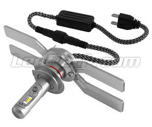 H7 LED Bulb For Motorcycle - Socket