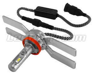 H9 LED Bulb For Motorcycle - Socket