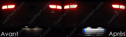 Led License plate Kia Rio