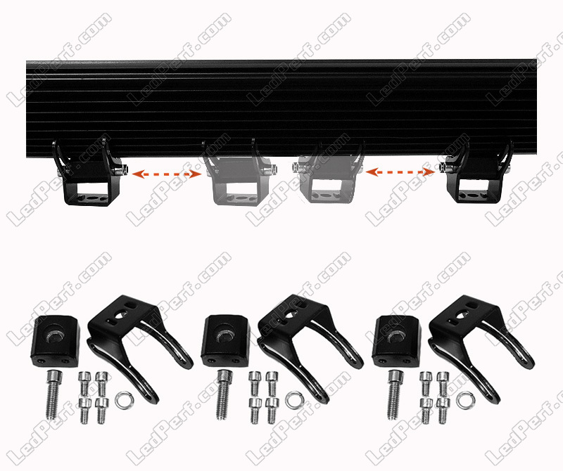LED Light Bar Double Row 288W CREE for 4WD, Truck and Tractor