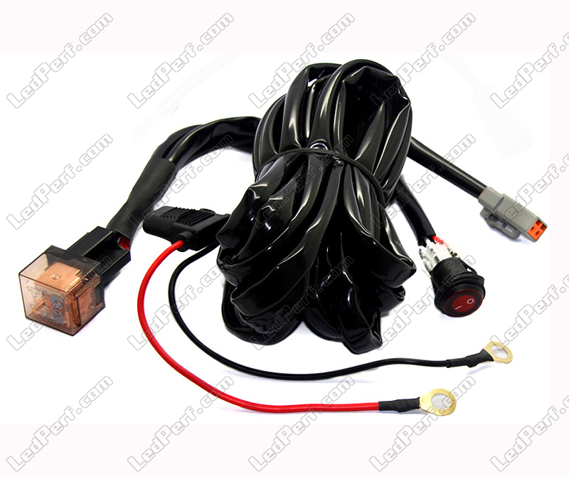 relay wire harness fixed switch for led bar 1 connector