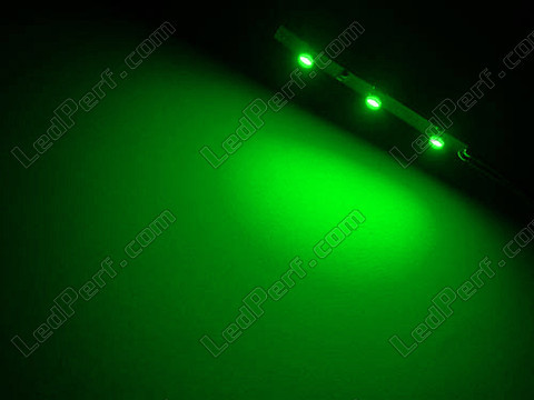 Divisible smd LED flexible strip Green