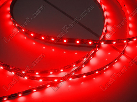 Divisible smd LED flexible strip Red