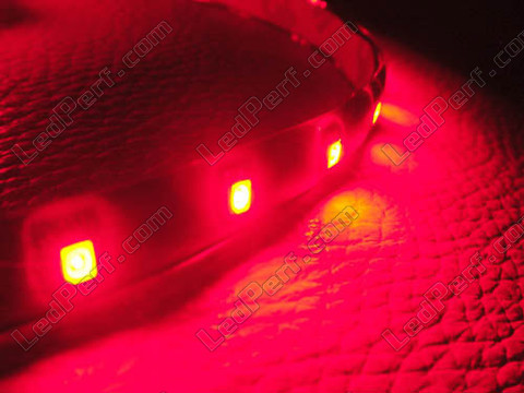 red 60cm LED strip - waterproof