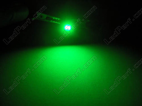 green T4.7 LED on bracket