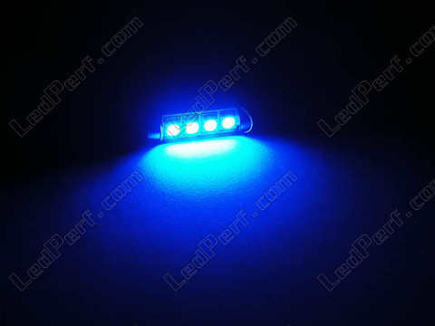blue 42 mmCeiling Light festoon LED, Trunk, glovebox, licence plate  - C10W