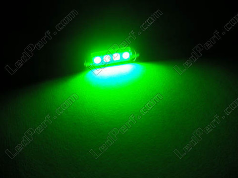 green 42 mmCeiling Light festoon LED, Trunk, glovebox, licence plate  - C10W