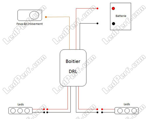 automatic switchbox for drl daytime running lights. Black Bedroom Furniture Sets. Home Design Ideas