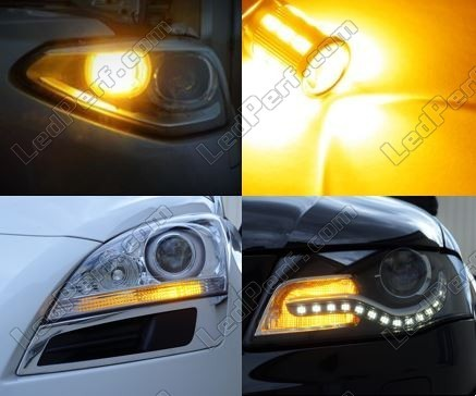 Led Front Turn Signal Mercedes Classe C (W203) Tuning