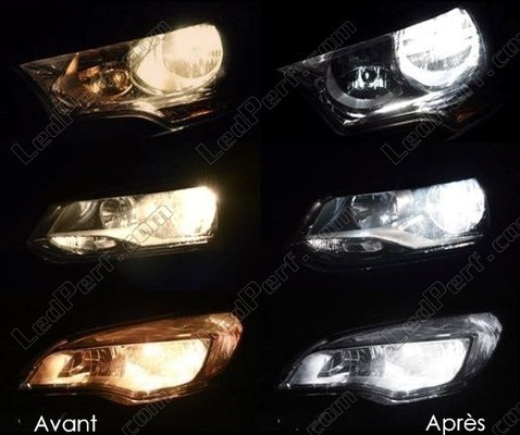 Led Headlights Mitsubishi Outlander Tuning