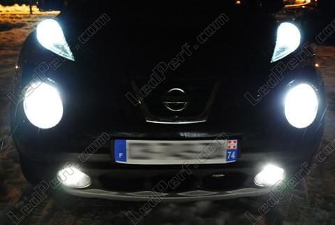 Pack Headlights Xenon Effect Bulbs For Nissan Juke