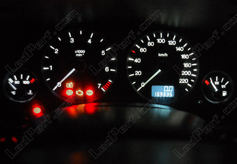 Led Kit For Meter Dashboard Opel Vauxhall Astra G Blue Red