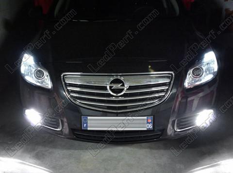 Pack Bulbs Led Fog Lamps For Opel Insignia