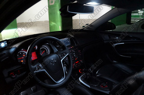 pack full led interior for opel vauxhall insignia. Black Bedroom Furniture Sets. Home Design Ideas