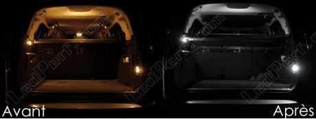 pack full led interior for peugeot 5008 plus. Black Bedroom Furniture Sets. Home Design Ideas