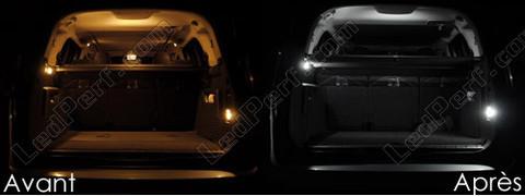 pack full led interior light for peugeot 5008. Black Bedroom Furniture Sets. Home Design Ideas