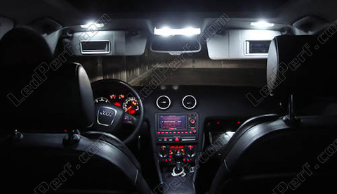 Pack Full LED Interior Light for Audi A3 8P