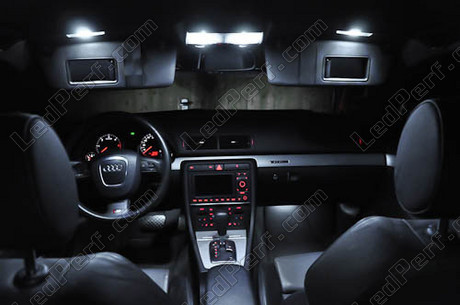 Pack Full Led Interior Light For Audi A4 B7