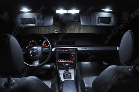 Pack full led interior light for audi a4 b7 for Audi a4 onderdelen interieur