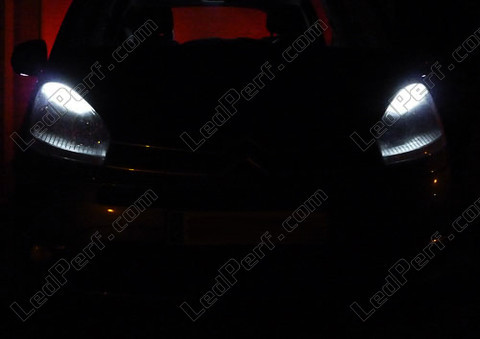 pack led sidelights for citroen c4 picasso parking lights. Black Bedroom Furniture Sets. Home Design Ideas