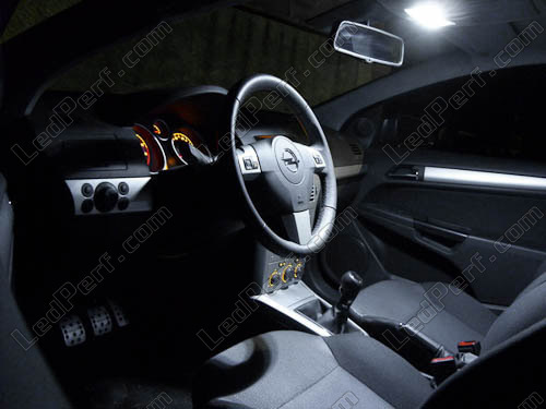Pack Full LED interior for Opel/Vauxhall Astra H TwinTop