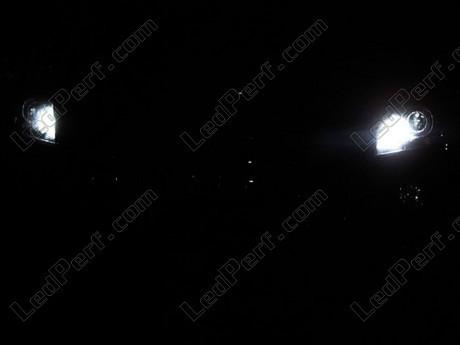 pack led sidelights daytime running lights for peugeot 3008 drl. Black Bedroom Furniture Sets. Home Design Ideas