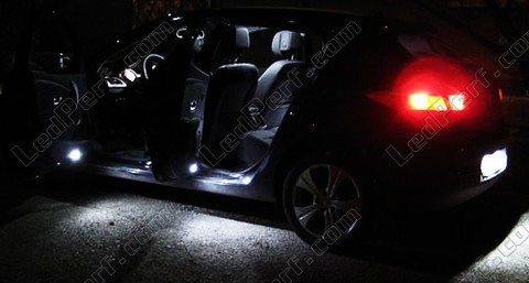 pack full led interior for renault megane 3. Black Bedroom Furniture Sets. Home Design Ideas