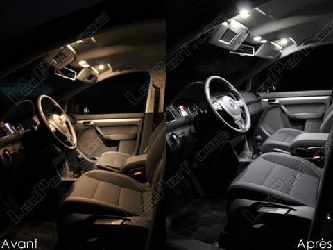 Led Interior Volkswagen Sharan 2010 7n