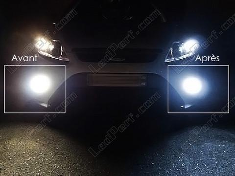 pack bulbs led fog lights for ford focus mk2. Black Bedroom Furniture Sets. Home Design Ideas