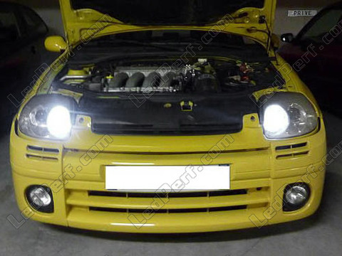 Pack LED sidelights for Renault Clio 2 Phase 1 (parking lights)