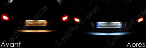 Led License plate Renault Fluence