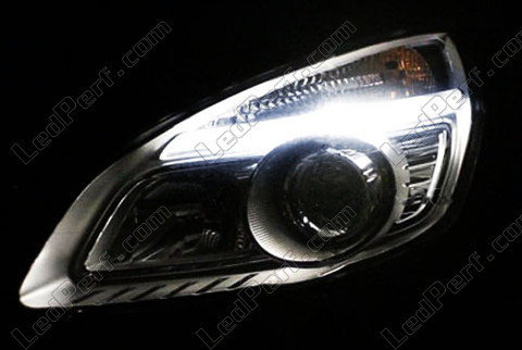 pack led sidelights for renault scenic 2 parking lights. Black Bedroom Furniture Sets. Home Design Ideas