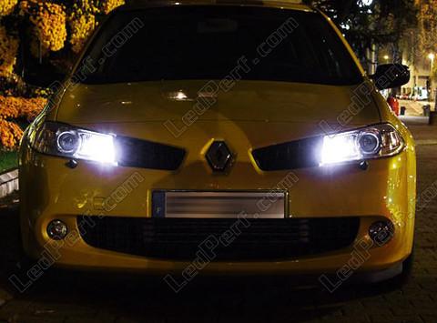 pack led sidelights for renault megane 2 parking lights. Black Bedroom Furniture Sets. Home Design Ideas
