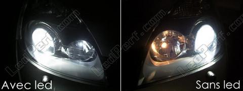pack led sidelights for renault clio 2 parking lights. Black Bedroom Furniture Sets. Home Design Ideas