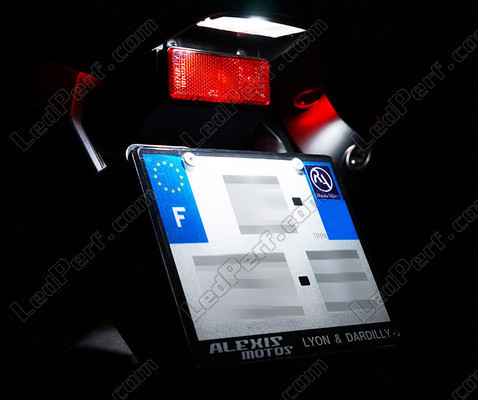 Led License Plate Aprilia Mana 850 Tuning