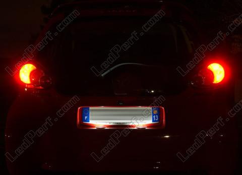 Pack LED license plate for Peugeot 107
