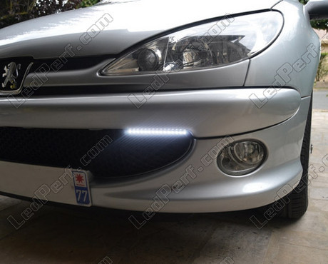 Peugeot 206 sport lights