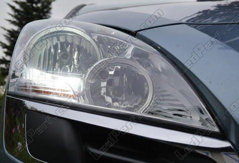 pack led daytime running lights for peugeot 3008 without xenon. Black Bedroom Furniture Sets. Home Design Ideas