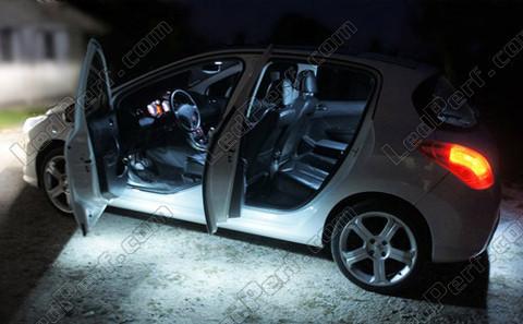 Pack Full LED interior for Peugeot 308 / RCZ - Plus