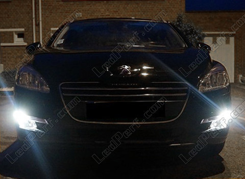pack led daytime running lights for peugeot 508 without xenon. Black Bedroom Furniture Sets. Home Design Ideas