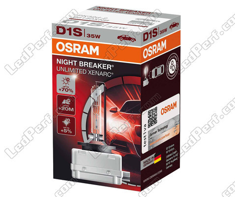 xenon bulb d1s osram xenarc night breaker unlimited 70 4350k 66140xnb. Black Bedroom Furniture Sets. Home Design Ideas