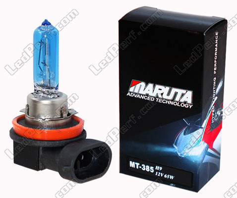 Motorcycle Scooter and ATV Bulb H9 MTEC Maruta Super White