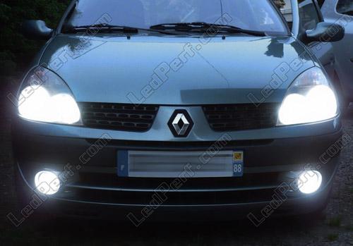 led headlights renault clio 2