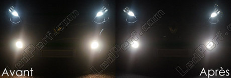 Pack Headlights Xenon effect bulbs for Renault Clio 4
