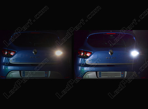 pack led backup lights for renault clio 4. Black Bedroom Furniture Sets. Home Design Ideas